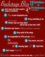 Backstage Bliss: 11 Guidelines for Students in a Dance Recital