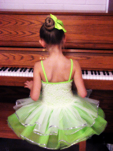 Sunday Snapshot: Tutus And Tickling Ivories