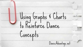 Using Graphs & Charts to Reinforce Dance Concepts