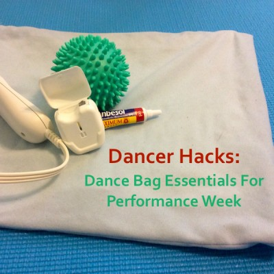 4 Dancer Hacks for Performances or Summer Training