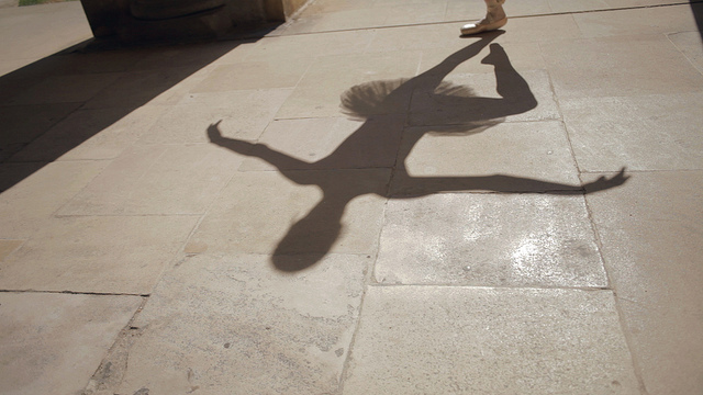 """Trinity College Ballerina 6"" by  Punting Cambridge. Licensed under CC Attribution-ShareAlike 2.0 Generic."