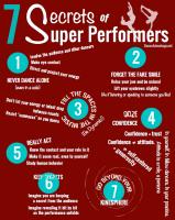 7 Secrets of Super Performers - DanceAdvantage.net