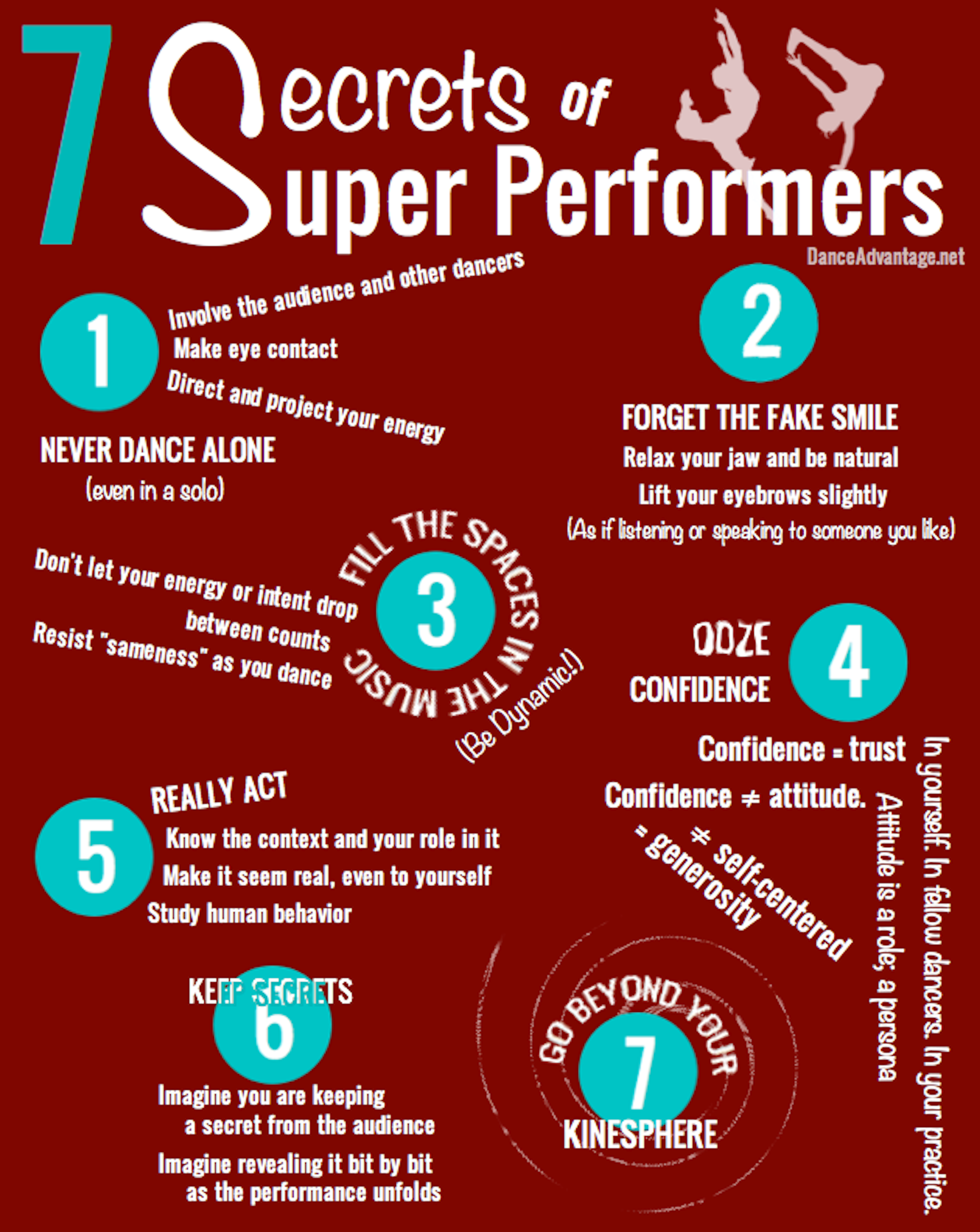 7 Secrets of Super Performers (Improving Your Performance Skills)