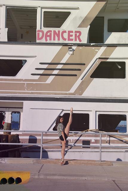 Sunday Snapshot:  Port de Danseuse