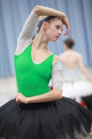 [Photo] New Houston Ballet Soloist, Melissa Hough in rehearsal