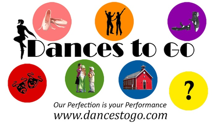 Dances To Go logo - Ou