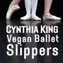 Cynthia King Vegan Ballet Slippers