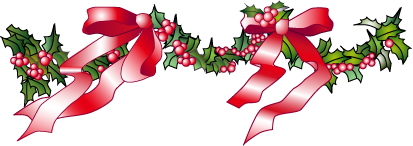 A garland of holly
