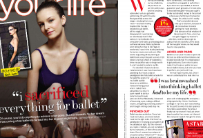 IMAGE Seventeen Magazine: I Sacrificed Everything For Ballet IMAGE