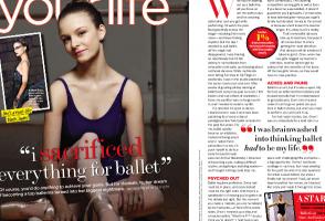 IMAGE Seventeen Magazine: I Sacrificed Everything For Ballet IMAGE