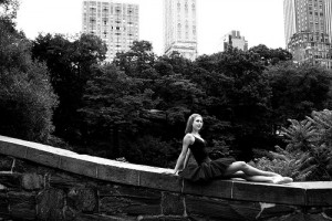 Sunday Snapshot: Ballerina Lounging in Central Park