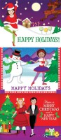 IMAGE Holiday Collection - Assorted Dance Note Cards Boxed Set by DanceStudioOwner.com IMAGE