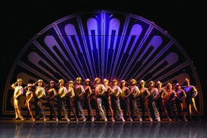 IMAGE Performance photo of A Chorus Line finale, One IMAGE
