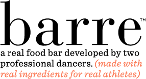 IMAGE Barre - a real food bar developed by dancers, created for dancers IMAGE
