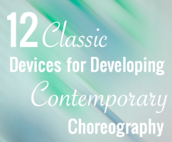 12 Classic Devices For Developing Contemporary Choreography