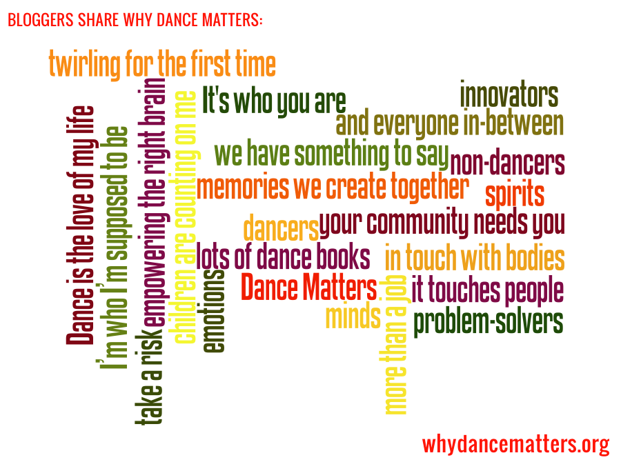 Bloggers Share Why Dance Matters