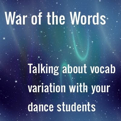 Saut de What? Avoid Terminology Wars With Your Students