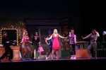 Actors in the musical Legally Blonde perform a production number.