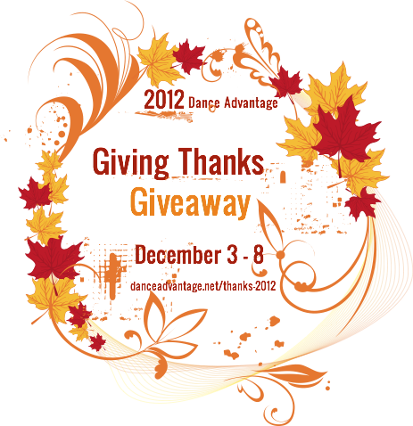 Giving Thanks Giveaway 2012