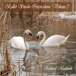 Two swans on a woodland lake are featured on the Ballet Studio Inspirations, Volume Two cover
