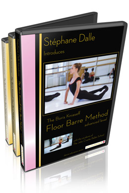 Stephane Dalle's introduction of The Boris Kniaseff FLOOR BARRE METHOD.