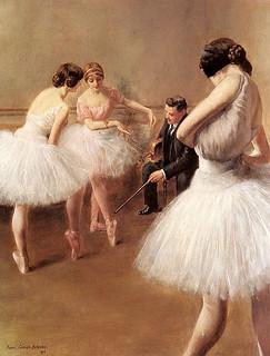 Carrier-Belleuse, La leçon de ballet