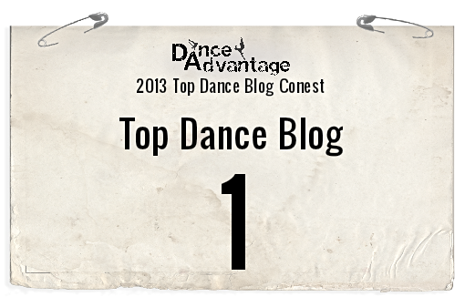 Congratulations Top Dance Blogs of 2013!