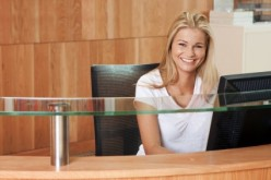 The front desk and friendly face at a dance studio