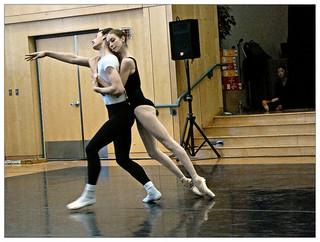 Boston Ballet Company - partnering in the studio