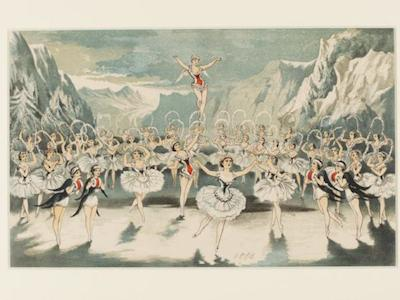 A Trip To The Moon Snow Ballet - Victoria and Albert Museum