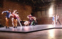 Cedar Lake Ballet in rehearsal for The Copier. Photo by David Poe.