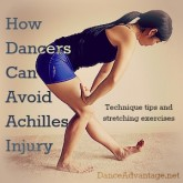 Achilles stretching