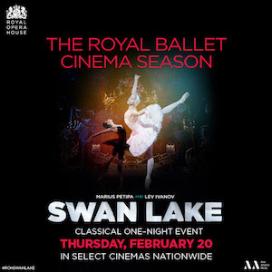 See Swan Lake in U.S. cinemas Febraury 20, 2014