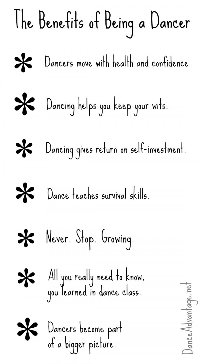 The Benefits of Being a Dancer