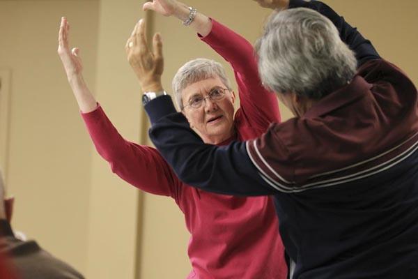 Parkinsons Project participants at Hubbard Street Dance Center