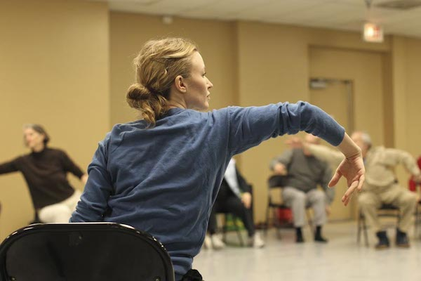 Sarah Cullen Fuller teaching Adaptive Dance Programs participants