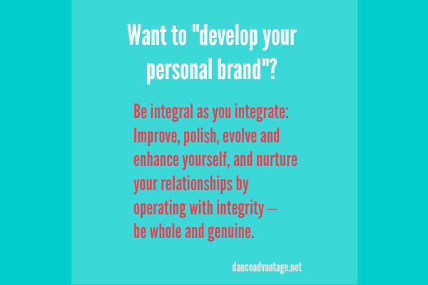 Want to develop your personal brand?