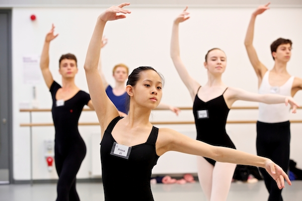 Dancers at the Genée International Ballet Competition
