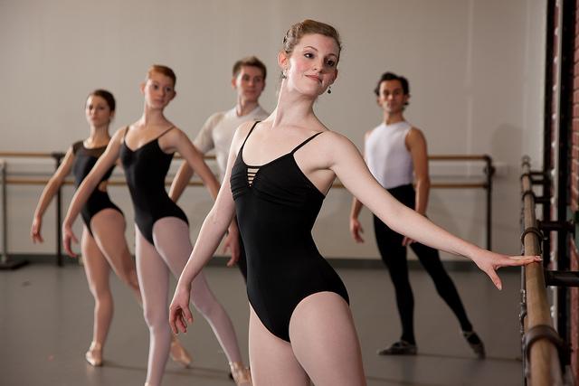 Kansas City Ballet in the studio