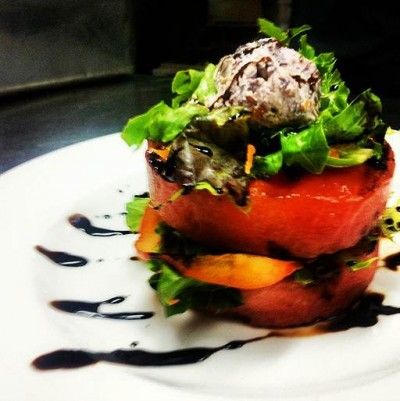 Grilled Watermelon by Chef and Dancer