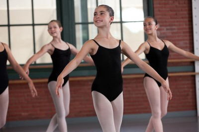 Students of the Kansas City Ballet School