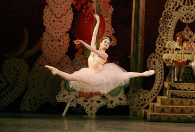 Kathryn Morgan as the Sugarplum Fairy