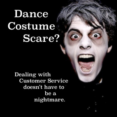 Dealing with Costume Company Customer Service