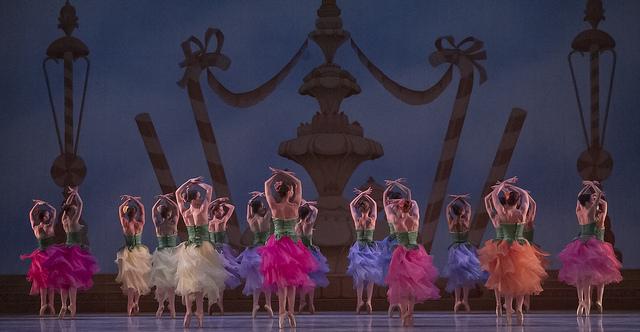 Dancers in Waltz of the Flowers
