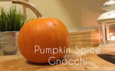 Pumpkin Spice Gnocchi recipe