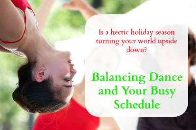 Balancing Dance and Your Busy Schedule