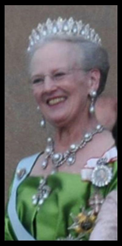 Headshot of Queen Margerthe of Denmark