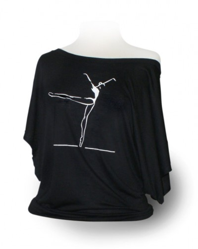 Dolman short-sleeve from designer4dance