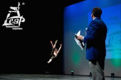 Leap dance compeition