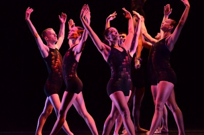 Lehrer Dance Company performing in Vladivostok 2013